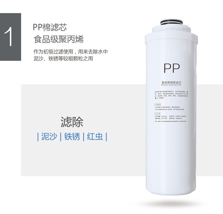 华迈400加仑纯水机U5PP棉滤芯