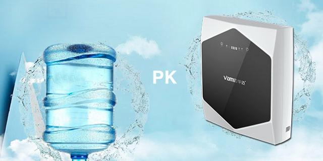 净水器租赁相较于桶装水有巨大优势